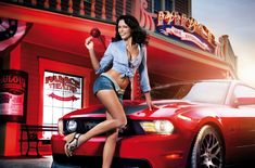 Girlscoolcars: 13 Cool Cars and Girls – Pin Up Pictures