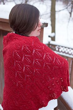 Cartouche shawl: Knitty Winter 2011