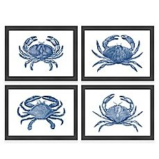 image of Americanflat Crab Framed Wall Art Collection