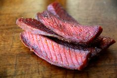 Looking for Fast & Easy Appetizer Recipes, Seafood Recipes, Snack Recipes! Recipechart has over free recipes for you to browse. Find more recipes like Salmon Jerky. Salmon Recipes, Fish Recipes, Seafood Recipes, Appetizer Recipes, Cooking Recipes, Appetizers, What's Cooking, Fish Jerky, Beef Jerky
