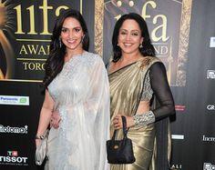 Hema Malini with Esha Deol