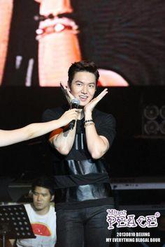 Lee Min Ho ♡ #Kdrama - My Everything Global Tour Beijing 20130810