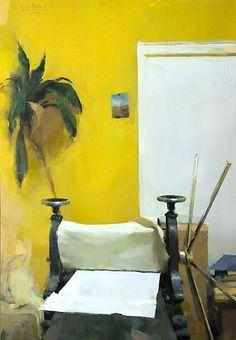 Carlos San Millan  S/T. Oleo / tabla, 55x38 cm. Colección particular