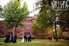 Elegant Boston Wedding. Getting Ready and Bride & Groom portraits on Beacon…