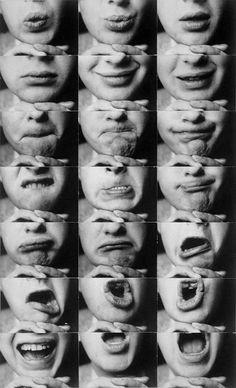Mund-Reihen (Mouth rows), 1931 by Kurt Kranz
