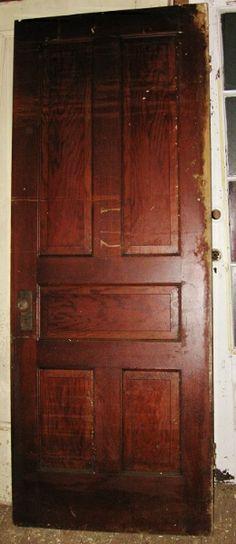 Panel door.