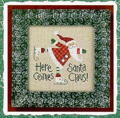 Here Comes Santa 05 - Cross Stitch Pattern