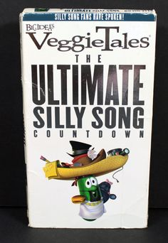 Veggie Tales The Ultimate Silly Song Count Down VHS Tape in DVDs & Movies, VHS Tapes | eBay