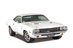 Classic Movie Cars: 1970 Dodge Challenger R/T White (Vanishing Point - Death Proof)