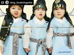 #Repost @ning_lovemingukie with @repostapp ・・・ ไม่เคย.... #daehanmingukmanse#daehan#minguk#manse#triplets#민국이#민국