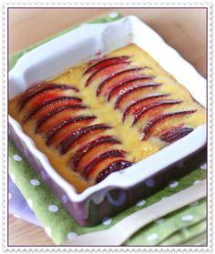 Susine al gratin su crema di miele e lavanda 2
