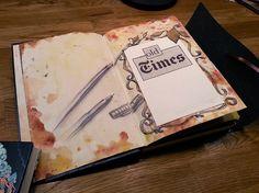 Art journal #art #artist #artwork #painting #illustration #Bleistift #sketchbook #skizzenbuch #sketch #pen #pencil #creative #picture #Kunst #mixed media #journal