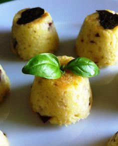 Mini timballi di riso al forno