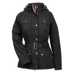 Just found this Barbour Water-Resistant Belted Jacket For Women - Barbour%26%23174%3b Ladies Equine Jacket -- Orvis on Orvis.com!