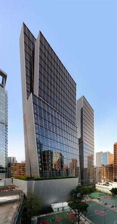 Doble Torre de Oficinas,Hong Kong.#arquitectura @ardecoCR