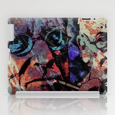 JUNG AND FREUD iPad Case by The Griffin Passant - $60.00