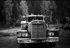 Old Canadian Kenworth truck by Rob McKay Photography, via Flickr