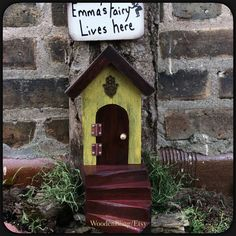 New item! I have just a few of these Hasma Fairy Doors, made with reclaimed wood and distressed.