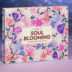 Nabla Soul Blooming Palette Beauty Stuff, All Things Beauty, Face Skin Care, You Are Beautiful, Girly Girl, Eyeshadow Palette, Skin Care Tips, Makeup Tips, Swatch