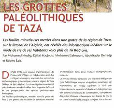LES GROTTES PALÉOLITHIQUES DE TAZA | Carrefour des idées et de l'information jijelienne