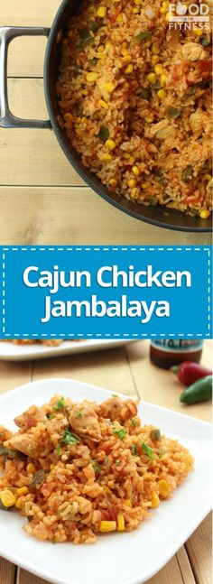 If you're looking for the tastiest, easiest and healthiest jambalaya recipe then you've found it. Stop searching, start cooking! Chicken Jambalaya, Jambalaya Recipe, Cajun Recipes, Chicken Recipes, Cooking Recipes, Cajun Food, Turkey Recipes, High Protein Recipes, Recipes