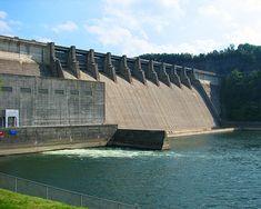 Wolf Creek Dam, Lake Cumberland Kentucky