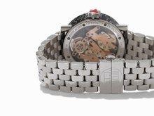 hours, minutes, date Alain Silberstein, Rolex Day Date, Black Shadow, Patek Philippe, Oxblood, Precious Metals, Chronograph, Bracelet Watch, Manual