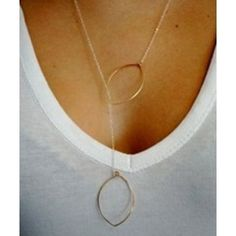 awesome hoop necklace