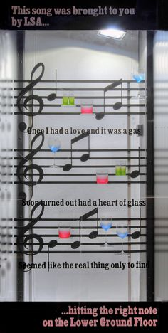 Musical windows