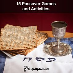 15 Passover Games and Activities for Family and Children. Pass along holiday traditions while entertaining for dinner or a party.