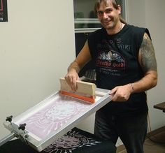 10 Things Never to do While Screen Printing Water-based inks and Discharge inks
