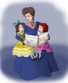 For the 's Mother's Day contest Lady Tremaine with Drizella and Anastasia. I figured Lady Tremaine could've been a pretty nice mother once upon a . Once upon a time. Cinderella Cartoon, Disney Princess Cinderella, Cinderella Stepsisters, Disney Villains, Disney Movies, Disney Characters, Disney Drawings, Cartoon Drawings, Once Upon A Time