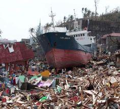 """شمار قربانیان طوفان هایان فیلیپین از مرز ده هزار نفر گذشت """"رستاخیز"""" در فیلیپین طوفان زده"""