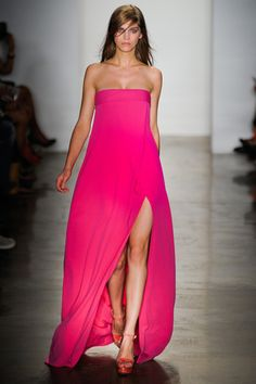 Peter Som. New York Fashion Week, primavera verano 2012.