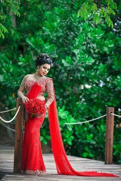 Bridal Sari, Saree Wedding, Indian Bridal, Bridal Dresses, Bridesmaid Saree, Bridesmaids, Saree Gown, Lehenga, Modern Saree