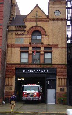 Hoboken Firehouse Engine Company No. 2  | Shared by LION