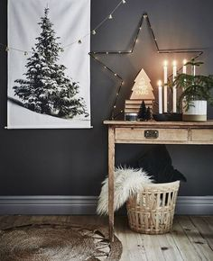 Christmas decor in black and white Scandinavian Scandinavian style black and white Christmas deco Christmas Mood, Xmas, Black Christmas, Christmas Christmas, Minimalist Christmas, Bohemian Christmas, Hygge Christmas, Christmas Tables, Natural Christmas