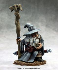 Reaper Miniatures :: OnlineStore Khael Stonekindle, Dwarf Wizard