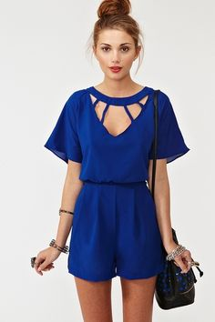 Back out romper love