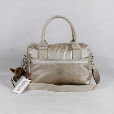 Golden Color Kipling Handbags , kipling Bolso,model:BEONICA HB6596 K12437,size:29cm×13cm×21cm ,whatsapp:+8613418595267,skype:Sophia He ,email:136134078@qq.com