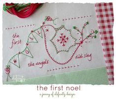 New pattern for August 2015 - The First Noel!  Click on the photo to learn more.