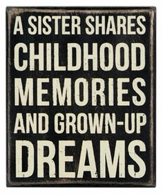 A Sister Shares - Box Signs 18184 | Primitives by Kathy