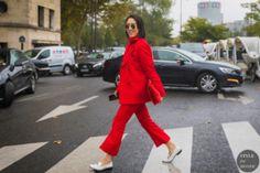 STYLE DU MONDE / Paris SS 2018 Street Style: Eva Chen  // #Fashion, #FashionBlog, #FashionBlogger, #Ootd, #OutfitOfTheDay, #StreetStyle, #Style