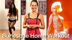 A burlesque dance workout. Super fun! Loren- you would LOVE THIS