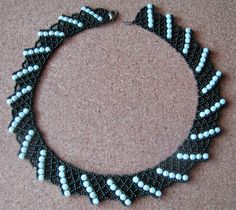 Free pattern for necklace Corfu