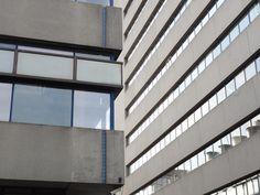 indruk grindbeton gebouw