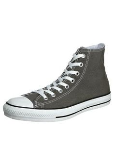 Ankle canvas boots Converse, AS HI CAN charcoal