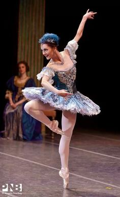 "Brittany Reid as Fairy in ""The Sleeping Beauty"" /Pacific Northwest Ballet /photo by Angela Sterling"
