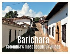 What lured me to Barichara was the fact that the small village is often referred to as the most beautiful small town in Colombia. Small Towns, Most Beautiful, Travel, Colombia, Barichara, Trips, Traveling, Tourism, Outdoor Travel