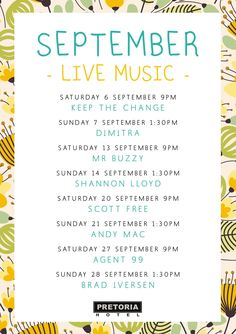 September Entertainment